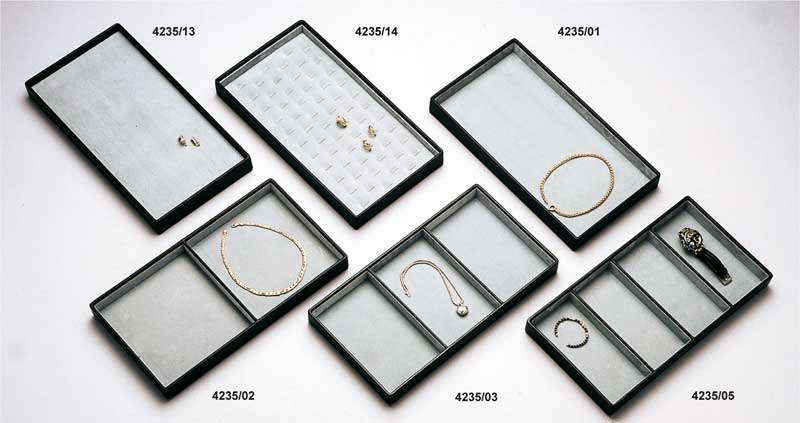 Stackable jewellery display tray