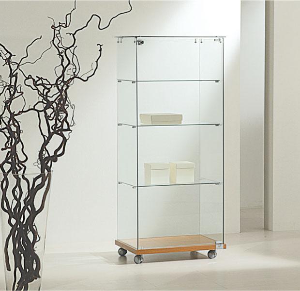 Vetrine in cristallo e vetrine in vetro per negozi | Vetrina SP