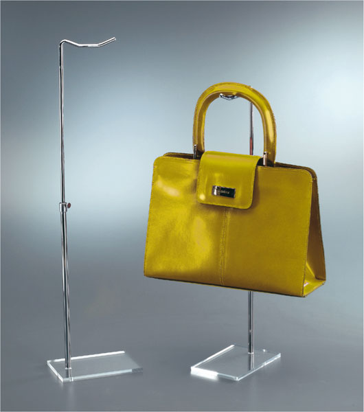 Bag, belt, wallet and shoe displays