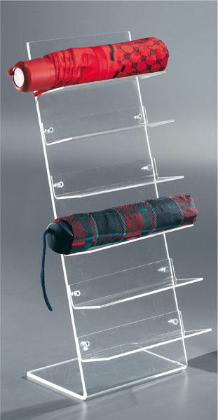 Countertop umbrella display stand