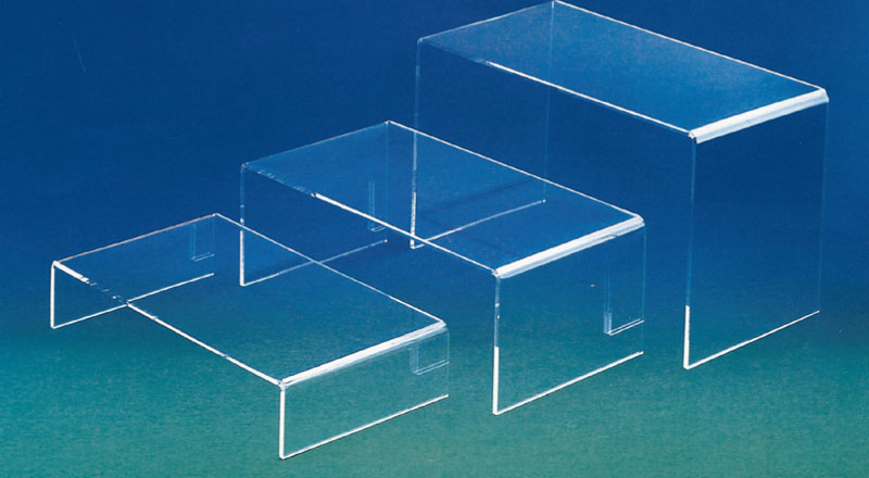 Plexiglass display riser - thickness 8mm