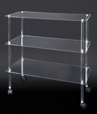 Plexiglas showcases, shelf unit displays and display cases