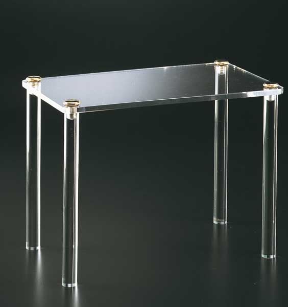 Plexiglass display table - thickness 8mm