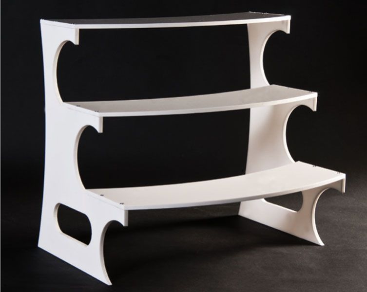 Scala plex bianco spessore 8 mm
