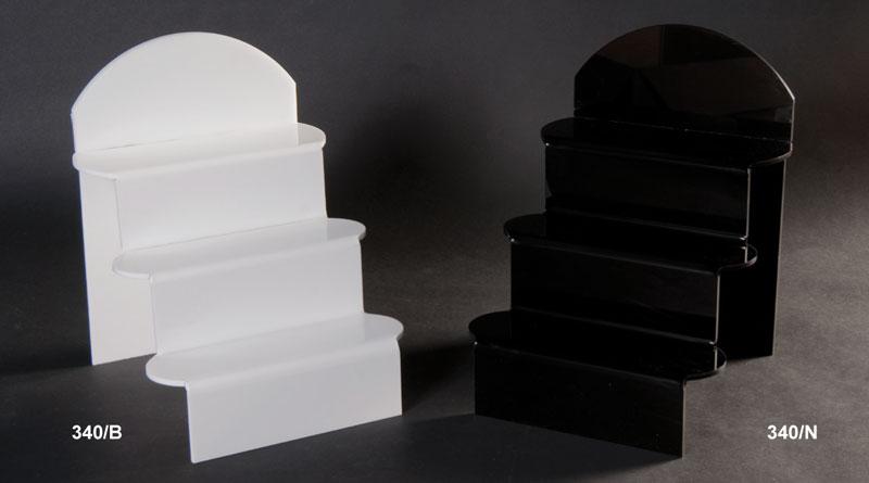 Scala plex bianco e nero spessore 5 mm