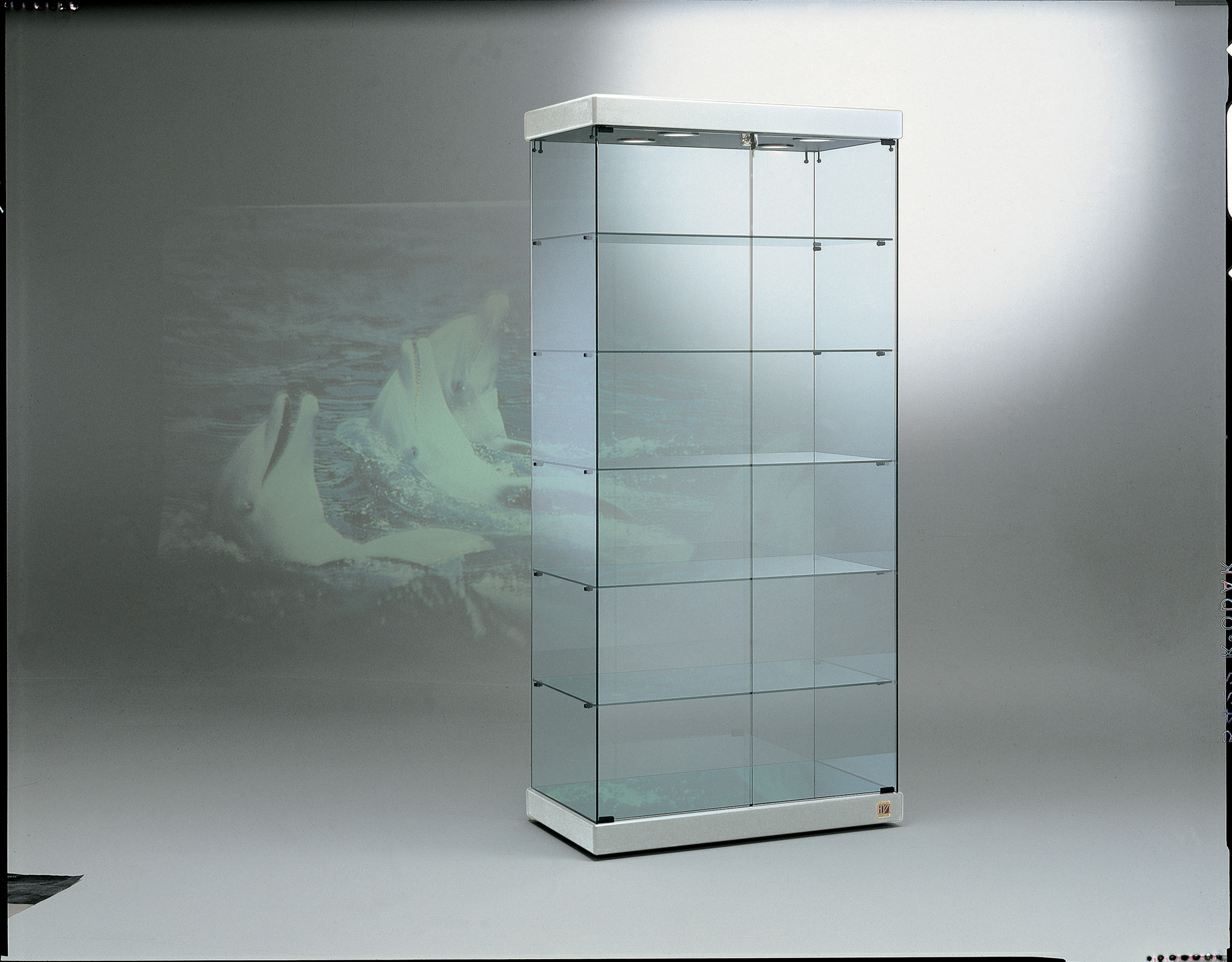 Vetrina in cristallo