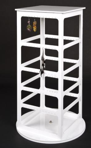 Countertop revolving earring stand - 240 holes