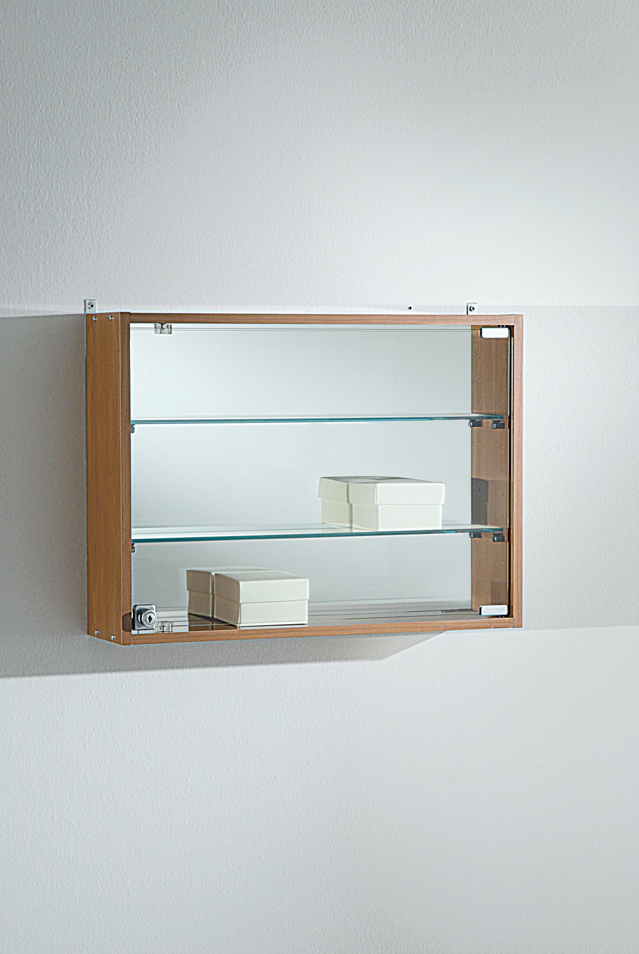 Tempered glass showcase