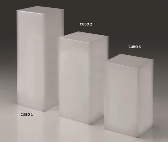 Opal plexiglass cube