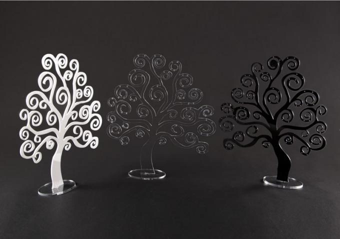 Porta collane e orecchini in plexiglass modello albero