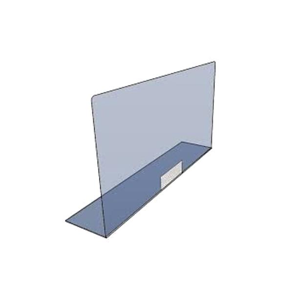 Parafiato da banco in plexiglass trasparente