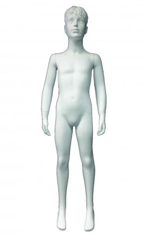 Boy/004 - mouladed head boy mannequin