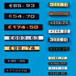 Modular price tags