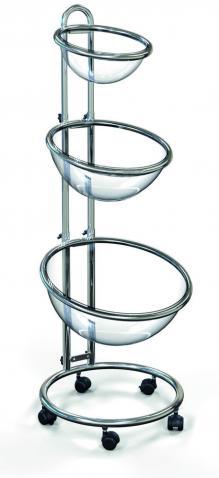 Bancarella promozionale due o tre vasche