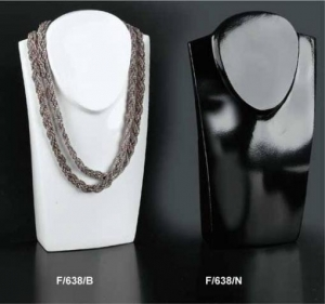 Necklace display bust