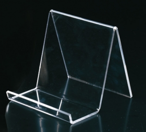 Espositore in plex trasparente