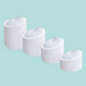 Set of 4 leatherette ring stands