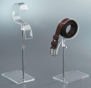 Adustable belt display