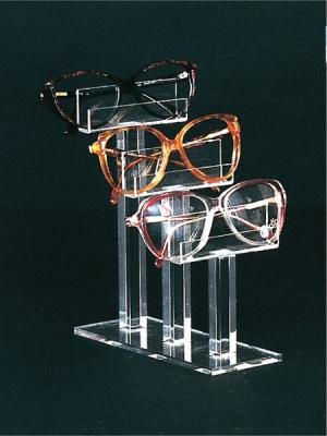 Three-tier eyewear display
