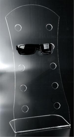 Espositore per occhiali 5 posti