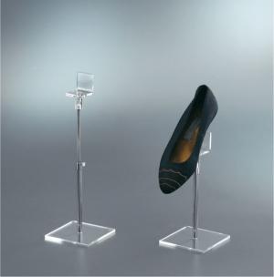 Espositore per scarpe regolabile in altezza