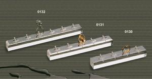 Espositore porta anelli in plex trasparente