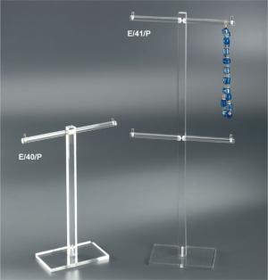 Plexiglass jewellery display stand