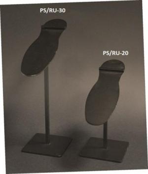Espositore porta scarpe verniciato nero opaco