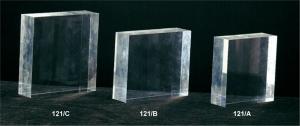 Plexiglass block - thickness 3cm