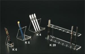 Clear plexiglass pen display
