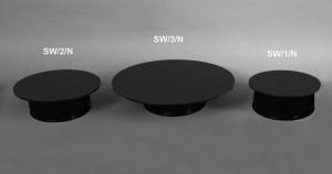 Girevole a pile nero portata 3.5 kg