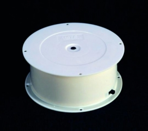 Battery operated turntable