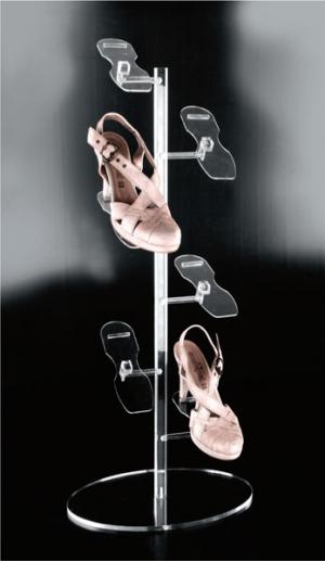 Piantana per scarpe con ripiani regolabili