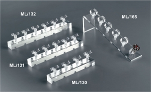 Porta anelli multipli in plex trasparente
