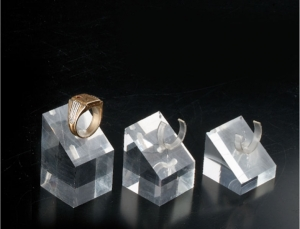 Set of 3 square ring displays