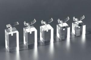Set of 5 square ring displays