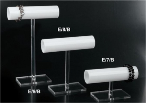 T-bar bracelet display stand - 5cm diameter