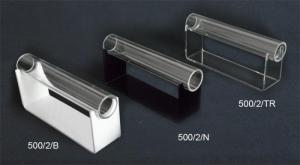 Porta bracciali e orologi con base nera, bianca o trasparente
