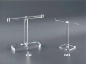 T-bar bracelet display stand