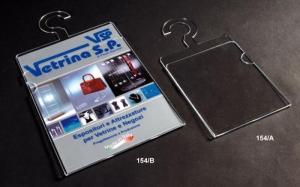 Plexiglass brochure holder