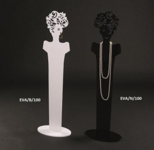 Plexiglass necklace/earring display stand