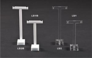 Plexiglass t-bar earring display