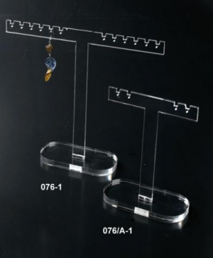 Clear plexiglass multi earring display
