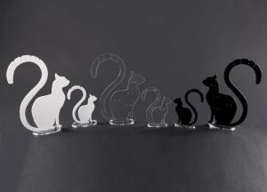 Plexiglass multi earring display