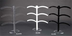Plexiglass drop earring stand- 60 holes