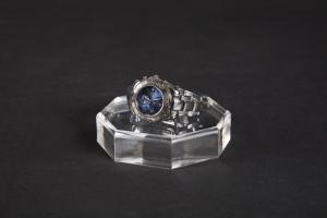 Porta orologi base ottagonale diamantata