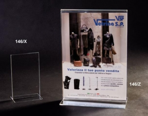 Plexiglass brochure holder