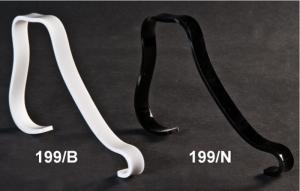 Portalacci donna in plex bianco o nero