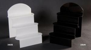 Plexiglass step unit display - thickness 5mm
