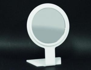 White round bench mirror